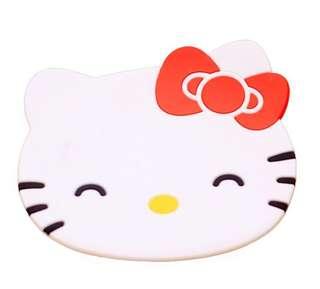 Hello Kitty Silicon coaster