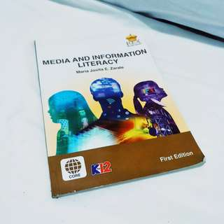 Media and information literacy shs book