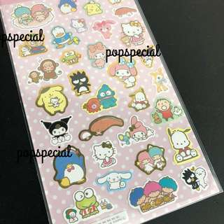 Original Sanrio Characters My Melody Hello kitty Sticker