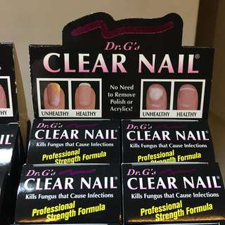 Fungus Nail Dr G treatment