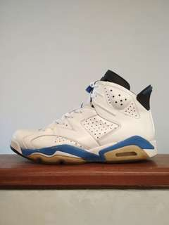Air Jordan 6 sport blue size 44