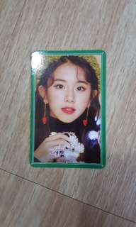 TWICE Merry&Happy photocard (ChaeYoung)