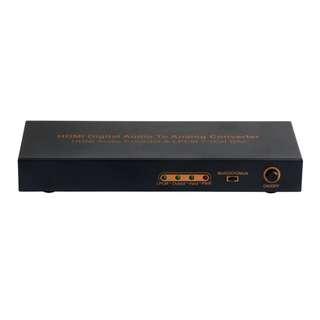 LPCM 7.1CH HDMI Audio Converter - HDMI Audio Extractor & LPCM 7.1 CH DAC - S06227