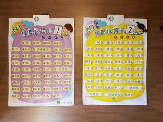 Berries Electronic Chinese Word Chart