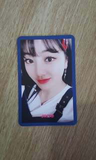 TWICE SIGNAL photocard (Jihyo)