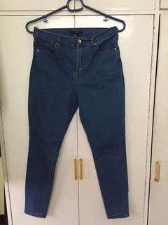 F21 skinny high waist jeans