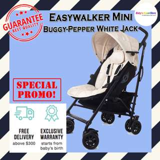 Easywalker MINI Buggy - Pepper White Jack (Special Edition)