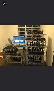 1185 MHS Mining Rigs(pm for separate rig)