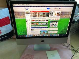 imac 24inch early 2009 with one 256g ssd and one 640g hd