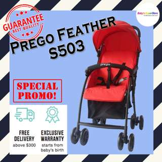 Prego Feather F503 - ★ As light as feather from 3.7kg only!!! ★ LOCAL seller warranty