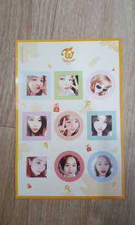 TWICE KNOCK KNOCK Sticker Official