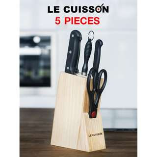[Stock Clearance!! Discount 10%] LE CUISSON Cookware Utensils Set 5 Pieces