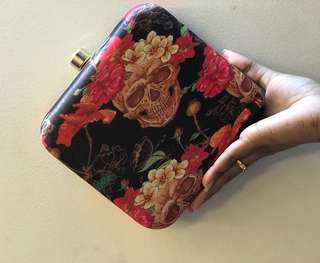 Statement Printed Clutch From India
