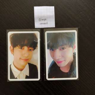 WTS Got7 Arrival Official Photocards Jinyoung and Yugyeom PC