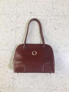 (Reduced) Oroton Leather handbag (Burgundy)