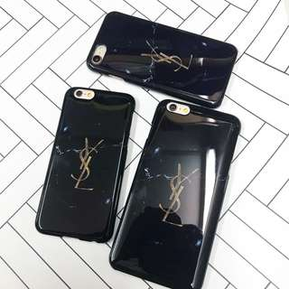 YSL marble case