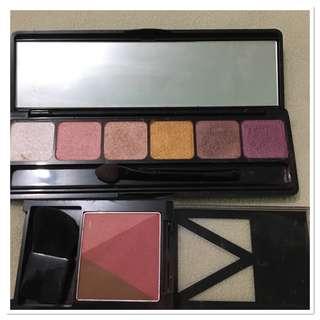 Slighlty used prism eyebrow & blush contour ( bundle)