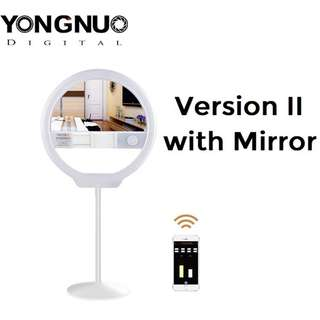 Yongnuo YN128 II Version 2 12 Inch LED Ring Light with Mirror Bicolor