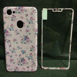 Floral 2 in 1 Cases