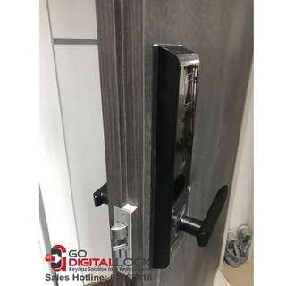 Schlage Fingerprint Digital Lock (4in1) S-6800 install on HDB / BTO Main Door