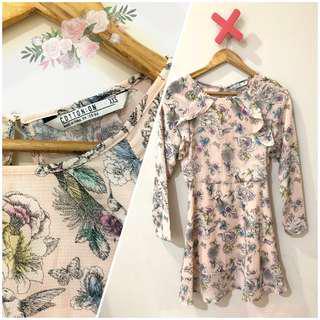 Cotton on mini dress pink