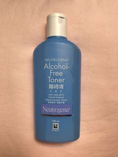 Neutrogena alcohol free - toner
