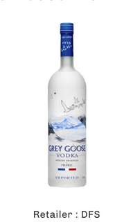 GREYGOOSE VODKA 1litre