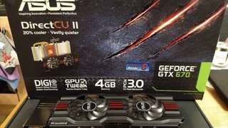 ASUS GTX670-DC2-4GD5 Graphic Card