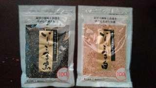日本直購食用黑,白芝麻