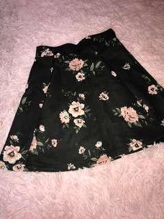 Floral Skirt- Urban Planet