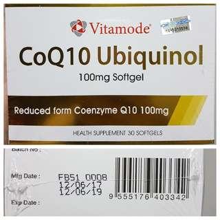 Vitamode Coq10 Ubiquinol 100mg