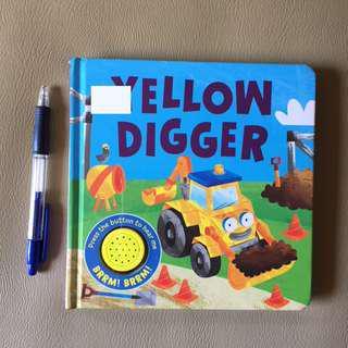 Sound book - Yellow Digger