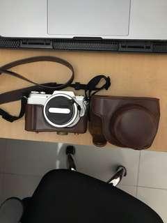 Panasonic GF 7 with 12 - 32mm kit lens
