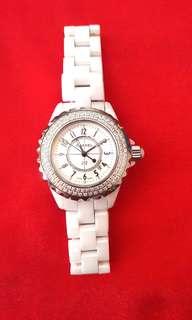 Chanel J12 Quart Watch Ceramic