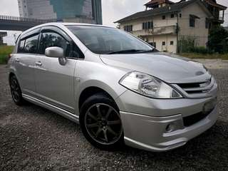 2010 Nissan Latio 1.6 ST-L Sport Hatchback (A) BLACKLIST CAN LOAN