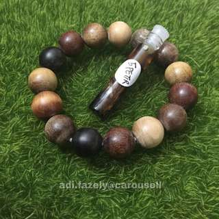 (Sold) 9 Kinds of Teras Kayu Bracelet (Multi-Purpose Benefits ) & A Free Gift