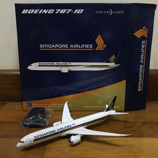 1/400 JC Wings Singapore Airlines Boeing B787-10