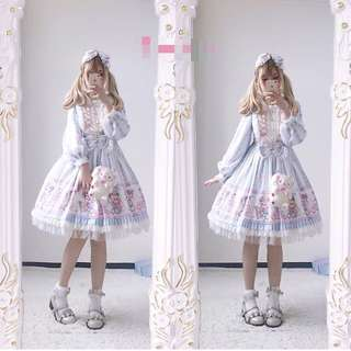 LOLITA dress+ hair accessories