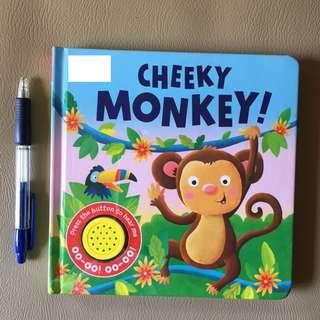 Sound book - Cheeky Monkey