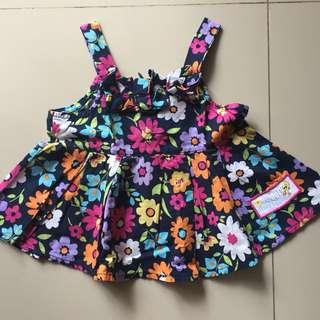 Baby Looney Pretty Flowery Dress