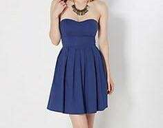 Tube solid color dress