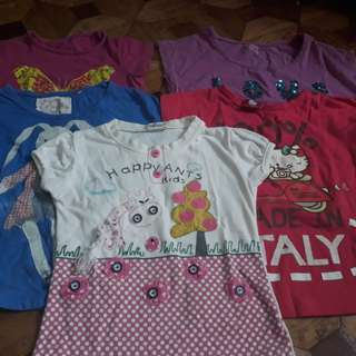 Take All Pambahay Shirts for 3-4y/o