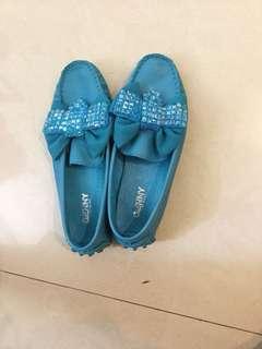 🚚 韓國真皮豆豆鞋