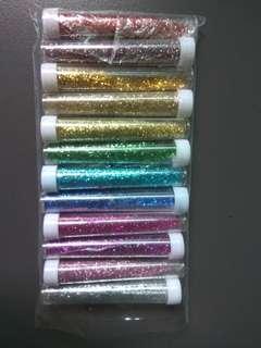 🚚 Glitter set