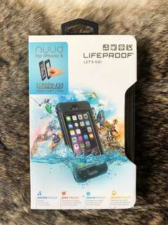 LifeProof Nuùd Case for iPhone 6/6s (Black / Authentic / Brand New / Never Opened)
