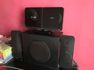 Philips home audio system