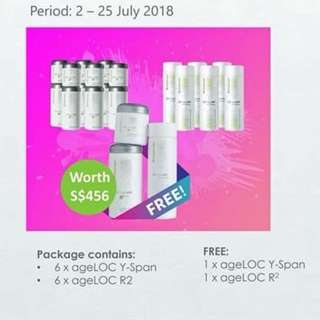 July Promo! Ageloc Duo Pack