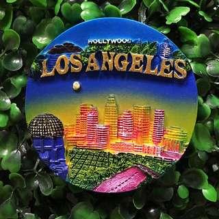 Los Angeles souvenir ref magnet