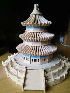 Model of Chinese style building