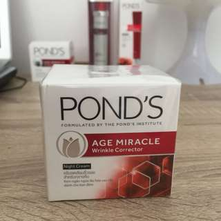 Jual Pond's Age Miracle Wrinkle Corrector Night Cream 50g (NEW)